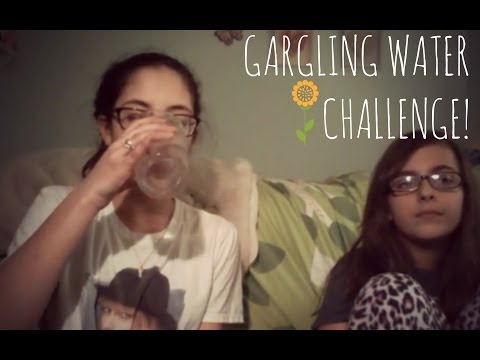EDUCATING PEOPLE IN THE FIELD OF MUSIC (Gargling Water Challenge) Take 3 ~ Eliana
