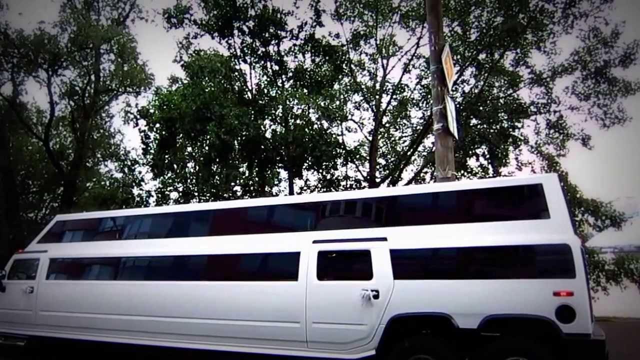Двухъярусный лимузин-джип Хаммер H2 на www.limoby.com - YouTube