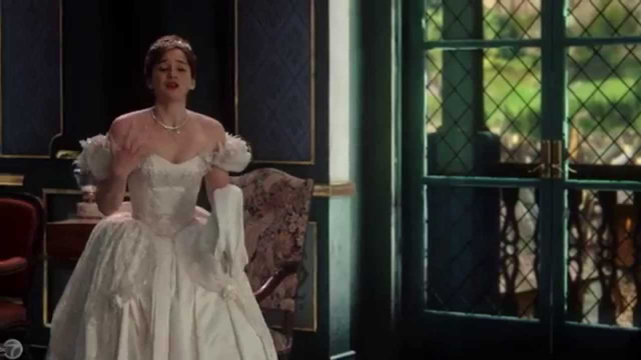 Once Upon a Time: How the show created Anna\'s wedding dress - YouTube