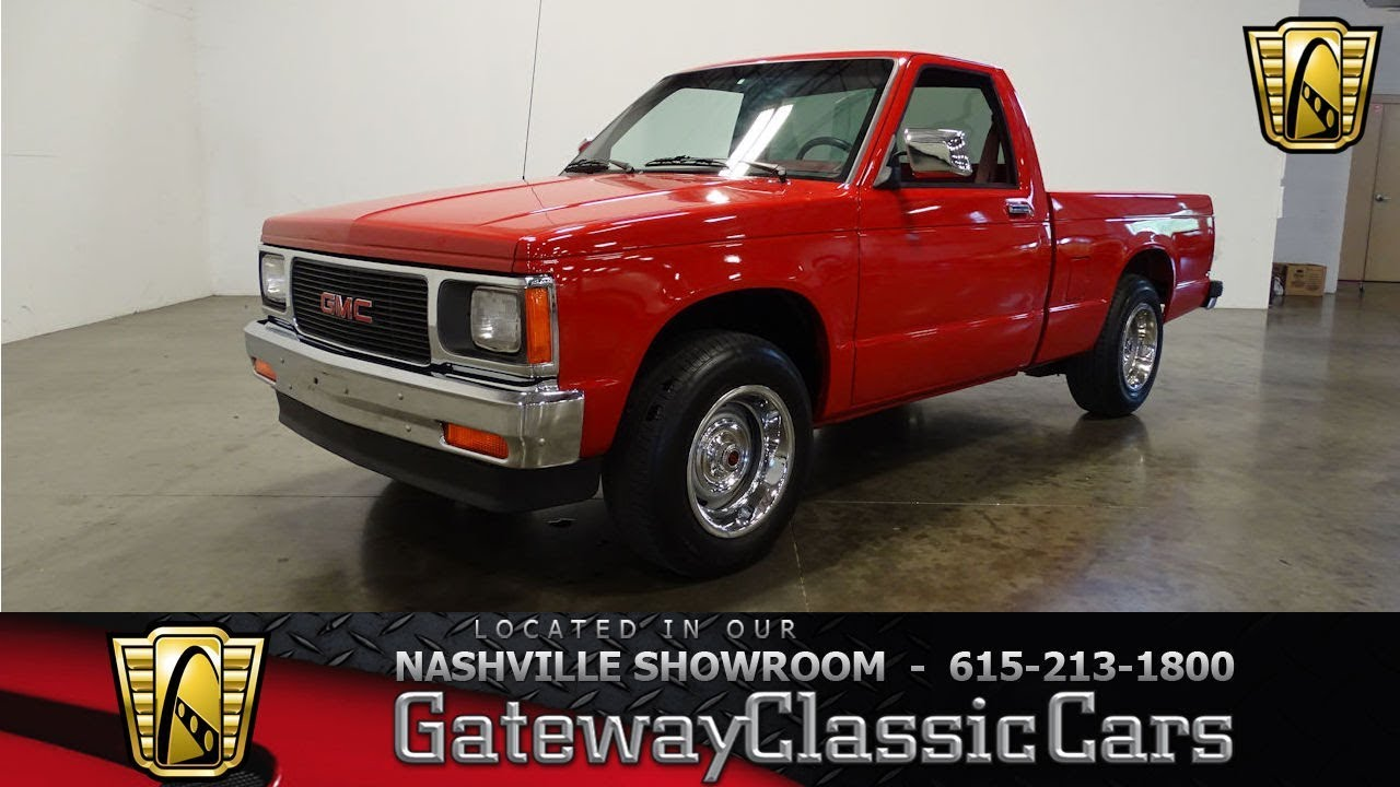 1992 Gmc Sonoma  Gateway Classic Cars Nashville   881nsh