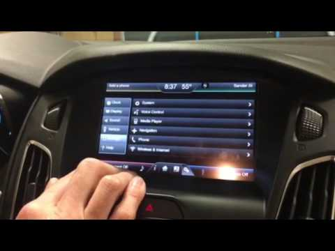 Ford Focus Electric Ffe Cannot Set Value Charge Times Time Date Incorrect