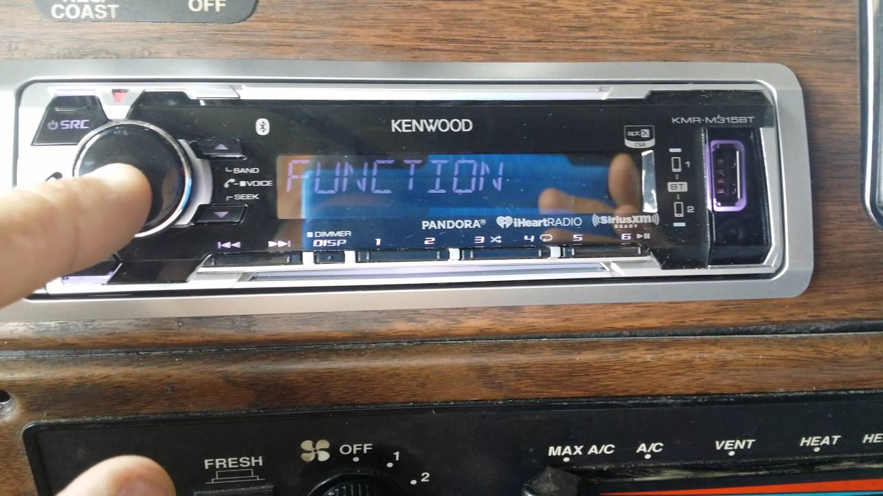 Kenwood KMR-M315BT stopped working (no Bluetooth, no factory reset)