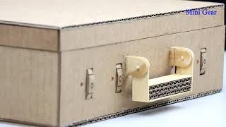Как сделать портфель с паролем из картона