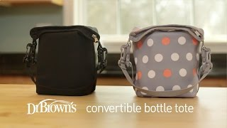 Dr. Brown's Convertible Bottle Tote