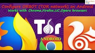 Setup ORBOT ( TOR network) on android | Browse anonymously |...
