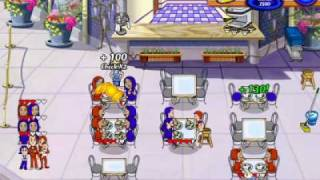 Diner Dash 2 - Levels 9 and 10