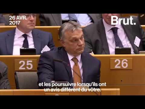 Guy Verhofstadt dénonce la dérive autoritaire de Viktor Orbán
