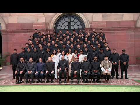 Probationers of Indian Forest Service (2016 Batch) from IGNF Academy called on President Kovind