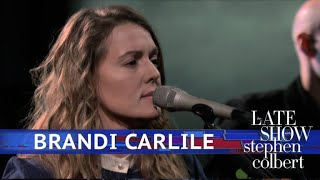 Brandi Carlile Performs 'Whatever You Do'