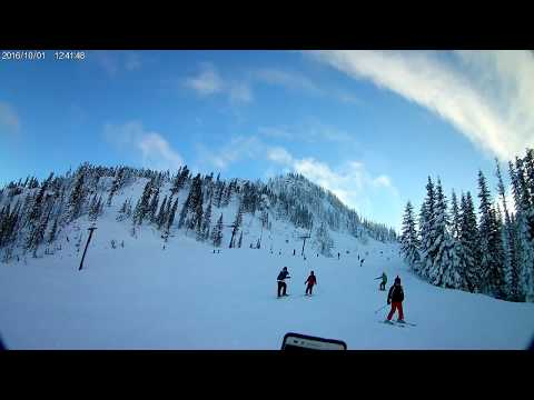 AKASO EK7000 4K: Skiing At Stevens Pass