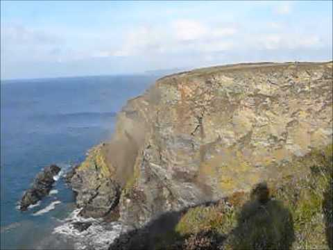 North Cliffs Failure - Amazing Cliff Collapse caught on Camera!
