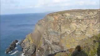 North Cliffs Failure - Amazing Cliff Collapse caught on Camera!
