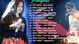 Gambar cover MP3 Album 2018 # Via Vallen - Nella Kharisma