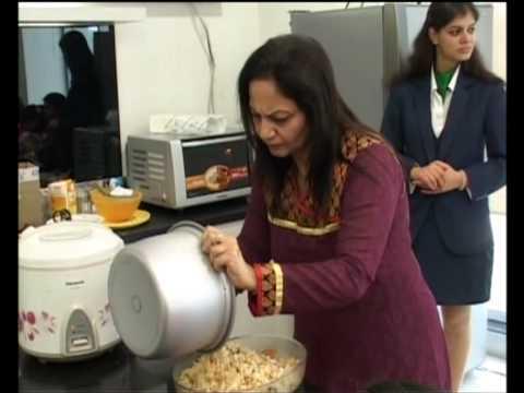 Nita Mehta Cookery Classes @ Panasonic Lifescape Center India