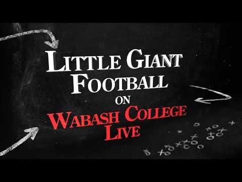 Wabash Football vs. Kenyon (September 16, 2017)