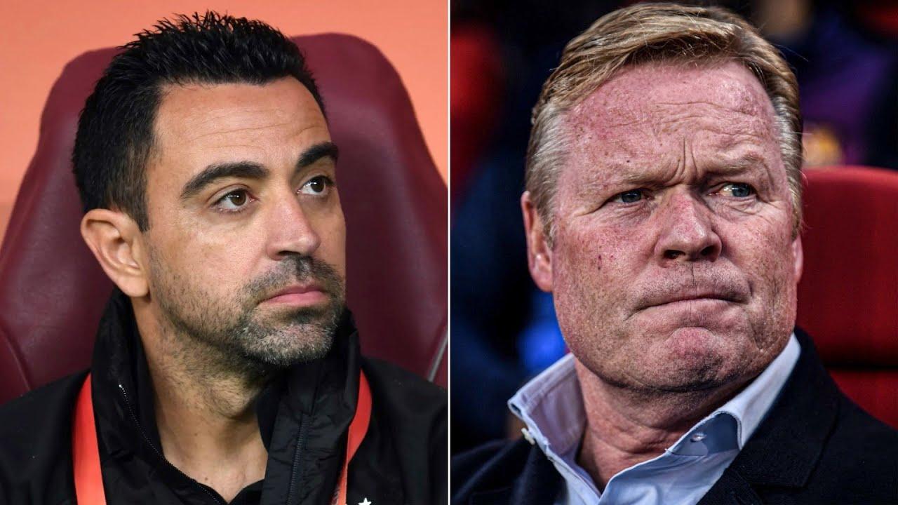 Barcelona sacks coach Ronald Koeman after disastrous start to La ...