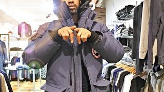 Trying on CANADA GOOSE, CP COMPANY, NOBIS & PARAJUMPERS at ACCENT CLOTHING LEEDS