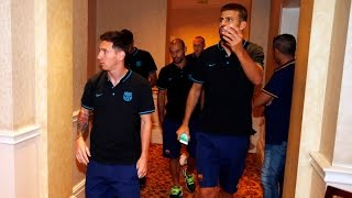BEHIND THE SCENES – FC Barcelona first day in Georgia