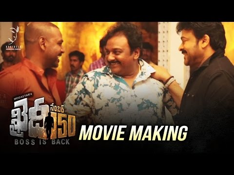 Thumbnail: Khaidi No 150 Movie Making Video - Exclusive || Khaidi No 150 | Chiranjeevi | V V Vinayak | DSP