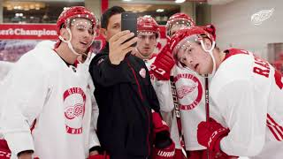 On the Ice   Detroit Red Wings Development Camp