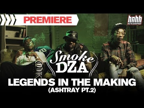 "Smoke DZA  ft. Curren$y & Wiz Khalifa - ""Legends In The Making (Ashtray Pt.2)"" Music Video"