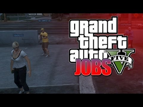 GTA 5 ONLINE - JOBS ► Deathmatch mit Tobinator - Grand Theft Auto V