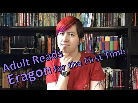 Adult Reading Eragon For The First Time [CC]