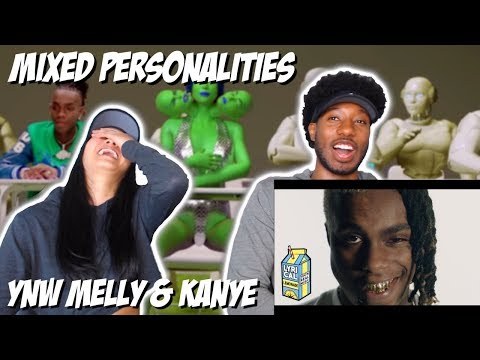 TRIPPY AF!! | YNW MELLY & KANYE WEST - MIXED PERSONALITIES | MUSIC VIDEO REACTION