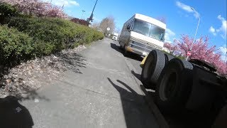 Boondocking With Some Semi Trucks | Using The Generator To Cook