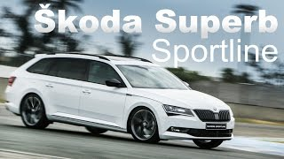 狠勁超乎想像 Škoda Superb Sportline|大鵬灣獨家試駕