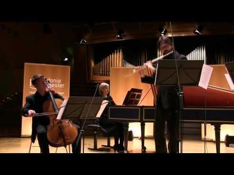 Georg Philipp Telemann Konzert G-Dur TWV 51:G2 für Flöte und Basso continuo