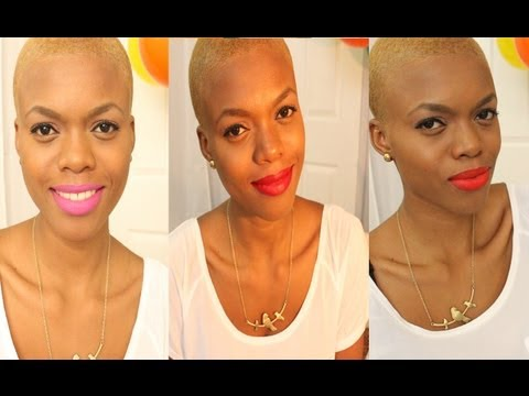 How I wear/Apply Bold & bright Lipsticks (pink,orange,red..options)