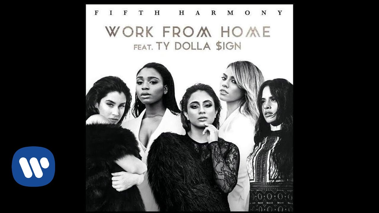 Fifth Harmony Work From Home Art