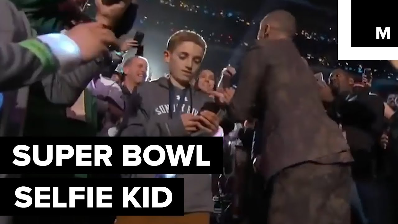 Meet the Super Bowl Selfie Kid Who Became a Meme Overnight