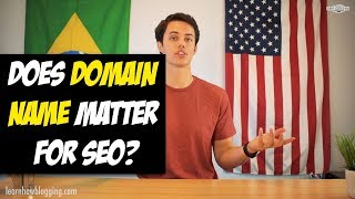 Does Your Domain Name Matter for SEO?