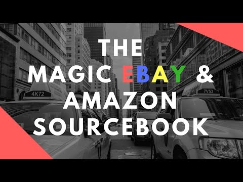E07: The Magic Sourcing Book & 10 Things Amazon ASD Taught Me about eBay! LIVE!