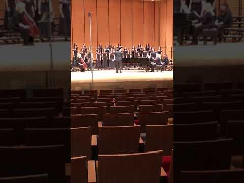 Vere Languores Nostros - McHi Freshman Treble Choir - UIL 2018