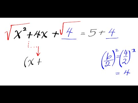 Completing the Square Square Root Property solving