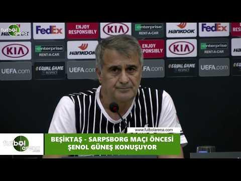 Şenol Güneş, Sarpsborg maçı öncesi basın toplantısı düzenedi