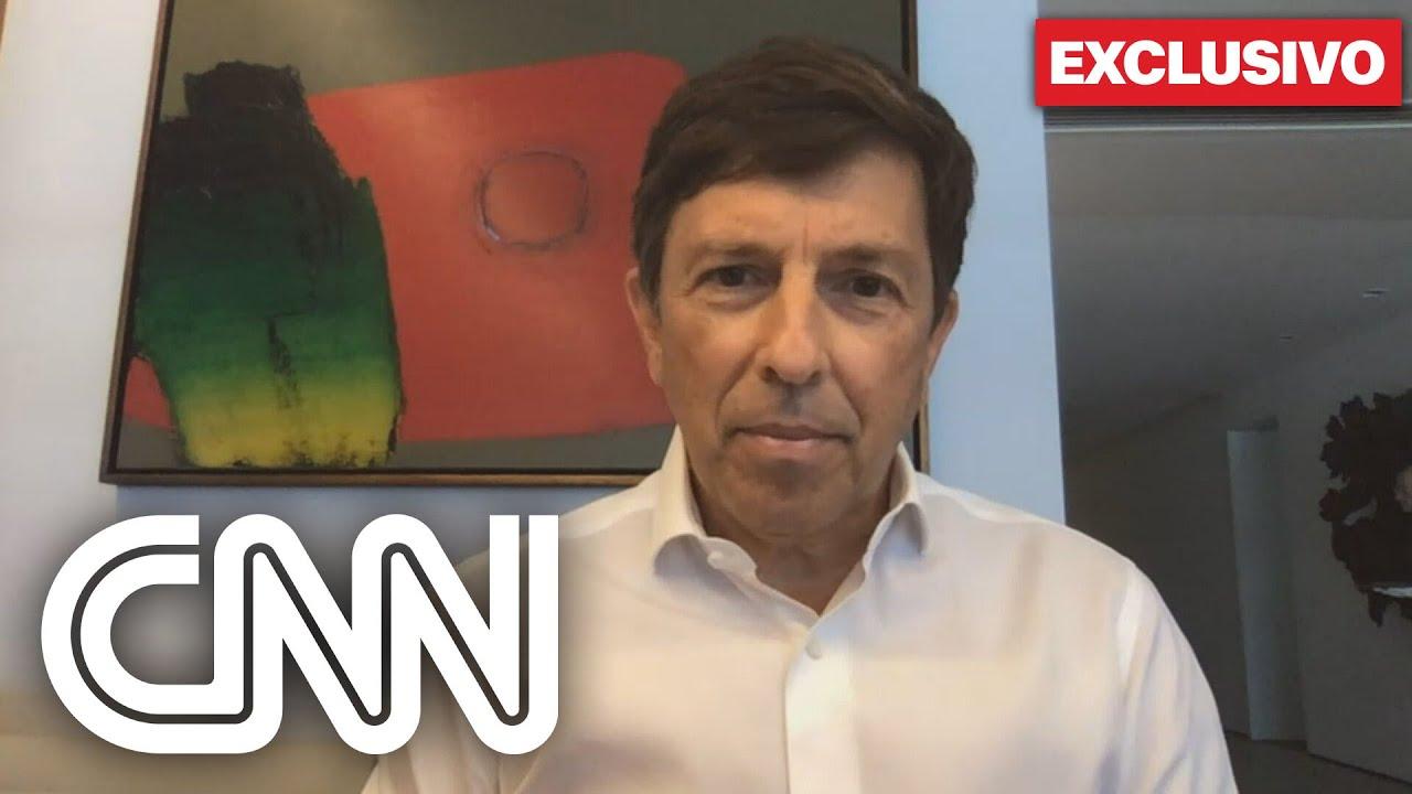 Notícias - Exclusivo: João Amoêdo fala sobre expulsão de Ricardo Salles do partido Novo - online