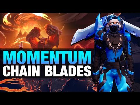 Dauntless Blaze Escalation Chains Build - Bursty Momentum Blades AKA Mom Blades