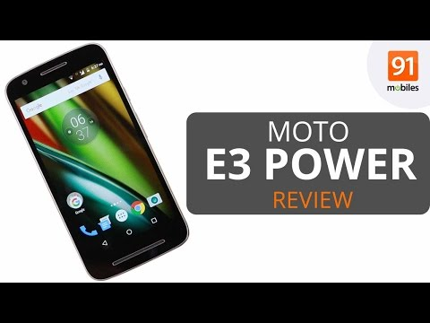 Moto E3 Power Review: Should you buy it in India?