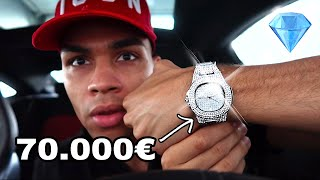 70.000€ DIAMANTEN UHR (ICED OUT) GEKAUFT !!! | PrankBrosTV