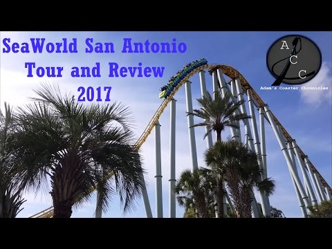 SeaWorld San Antonio Tour and Review 2017