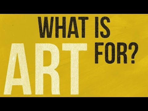 What is art for? Alain de Botton