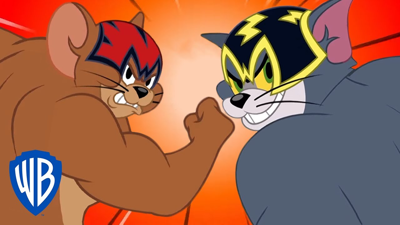 Tom & Jerry   Muscular Tom & Jerry   WB Kids