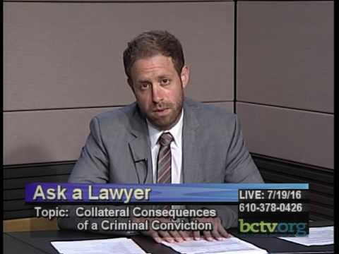 Collateral Consequences of a Criminal Conviction 7-19-16