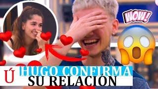 Hugo 'confirma' por descuido que está liado con Anajú en una conversación con Eva Rafa y Nia OT 2020