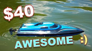 $40 RC Boat - SkyTech H100 - It's About Time We Get a New Boat - TheRcSaylors