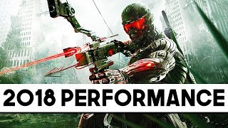 Crysis 3 Performance in 2018 - WILL STILL BRING HIGH END PC's DOWN!
